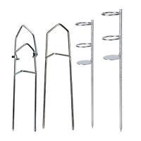 Fishing Pole Holder Insert Ground Stand Rod Holder Rack Rod Pole Holder