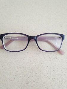 Boots Optician Full Rim Eyeglasses Frames -Purple Glasses Prescription