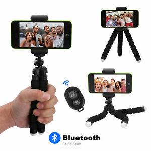 Smartphone Universal Handy Stativ Selfie Stick Klemmstativ Ständer Bluetooth