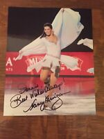 NANCY KERRIGAN Authentic Hand Signed Autograph 8X10 Photo OLYMPIC FIGURE SKATER