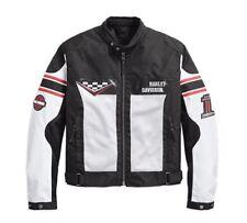 Genuine Harley-Davidson Mens Foxfield Mesh Riding Jacket 97103-18em 3xl