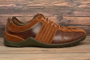 Cole Haan Brown Leather Suede Lace Up Casual Sneaker C04951 Mens Size 10M