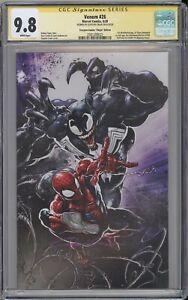 Venom #26 CGC SS 9.8 Clayton Crain signed Scorpion comics LTD VIRGIN cover