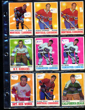 20 - 1970-71 0-pee- chee Hockey cards Mostly excellent shape (see photos)