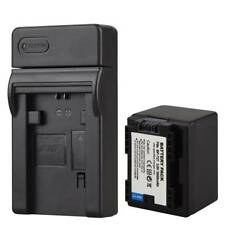 BP-727 Battery + Charger For Canon VIXIA HF M56 M506 M52 R38 R300 BP-709 BP-718