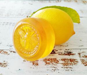 Honey & Turmeric Facial Soap, Lemon, Ginger, Oily Skin