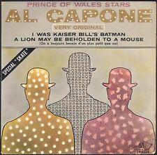 PRINCE OF WALES STARS AL CAPONE 45T EP BIEM AZ 1115 SPECIAL SKATE