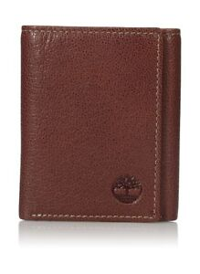 Wallet - Timberland Men's Leather Rfid Blocking Trifold Security