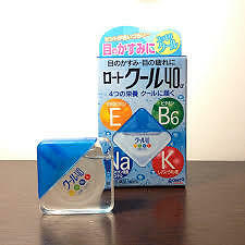 Japan Rohto Cool 40 Alpha Eye Drops
