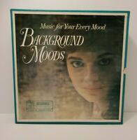 Readers Digest Background Moods Music For Your Every Mood 10 LP Vinyl Box Set