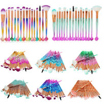 20PCS Pro Eye Makeup Brushes Set Eyebrow Eyeshadow Lip Cosmetic Brush Tools Kit