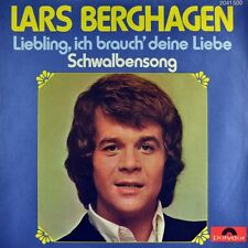 "7"" LARS BERGHAGEN Liebling CV GRASS ROOTS Love Is What You Make It POLYDOR 1973"