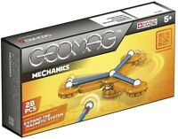 Geomag Mechanics 28 Piece Swiss Made Magnetic System Construction Toy BNIB #NG
