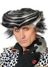 Mens Cats Musical Style Black and White Wig