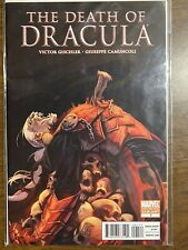 2010 Marvel Comics The Death Of Dracula #1 Variant 2nd Printing