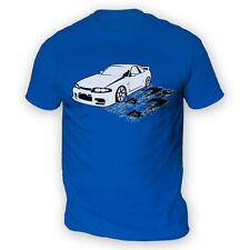 Skyline R33 Hombre Camiseta-x13 Colores-Drift JDM Japan carrera crucero furioso