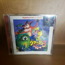 CRASH BANDICOOT 3 The Best for Family Playstation PS1 Japan