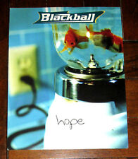 Christian Band BLACKBALL - HOPE Album / 8.5 X 11 Promo Poster 2-Sided One Sheet