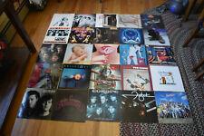 Lot of 25 1980 Classic Rock Lp's  VG+ to EX STONES/VAN HALEN/TWISTED SIS/ZEBRA