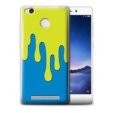Étuis, housses et coques bleu en silicone, caoutchouc, gel pour téléphone mobile et assistant personnel (PDA) Xiaomi