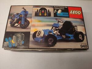 1977 LEGO EXPERT BUILDER 948 BOX INSTRUCTIONS AS IS