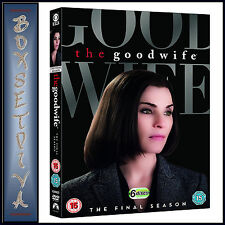 THE GOOD WIFE - COMPLETE SEASON 7 - FINAL SEASON  *BRAND NEW DVD **