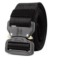 "Durable Cobra Tactical Belt Heavy-Duty Quick-Release Big and Tall 1.5"" Training"
