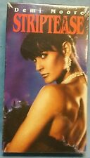 "FACTORY SEALED! ""STRIPTEASE"" VHS Movie Tape Demi Moore Burt Reynolds Comedy"