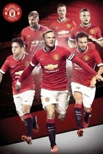 Manchester United Players Soccer Poster 24x36