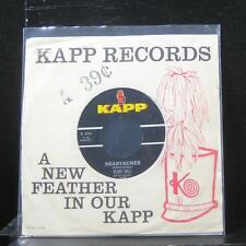 "Kenny Ball - Heartaches / High Hopes 7"" VG+ K554 Vinyl 45 Kapp Records 1963"