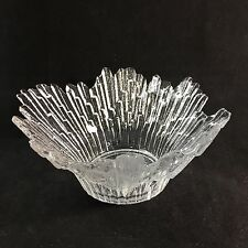 Humppila Finland Ice Glass Bowl Icicle Iceberg Revontulet Northern Lights