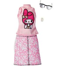 Barbie Hello Kitty My Melody Top/Skirt Fashion