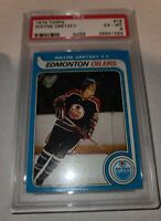 WAYNE GRETZKY 1979-80 TOPPS PSA 6 EX-MT RC #99 THE GREAT ONE ROOKIE CARD HOF🏒🥅