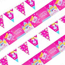4 x HAPPY BIRTHDAY BUNTING Girls Party Banner Decorations Wall Sign 2m Long Set