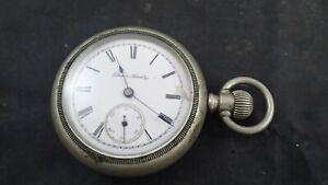 1894 Hampden 9j 18s Model 2 Gladiator Pocket Watch