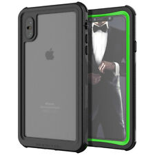 Ghostek NAUTICAL2 Waterproof Tough Case Cover for Apple iPhone XS Max - Green