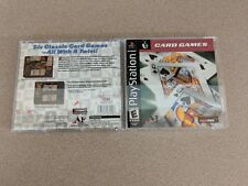 CARD GAMES PLAYSTATION 1 PS1 EX+NM CONDITION COMPLETE!