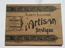 1921 French Artist Supply Catalog  Album Illustre de l'Artisan Pratique