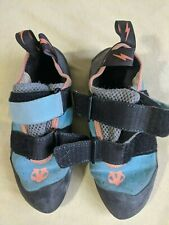 Evolv Elektra rock climbing shoes women's Us 5.5