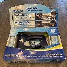 New listing Mr Clean Auto Dry Car Wash Soap Starter Filter Cleaning New Nib