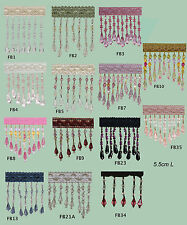 Fringe Beading X SET of 2 meters (from 14 designs)