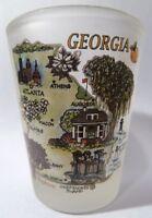 GEORGIA MAP SHOT GLASS SHOTGLASS