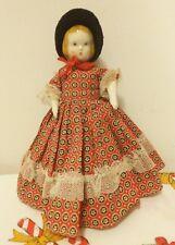 Ruth Gibbs, Rare 1940'S China Doll Play Friend Series Nr 402P W/Paper Label