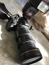 Canon EOS Rebel XT Tamron SP AF LD 28-105mm Speedlite Flash 420EX Digitalkamera