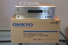 Onkyo TX-SR601E argent AV Récepteur Amplificateur Hifi Boxed