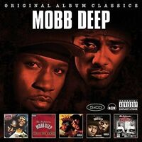 MOBB DEEP - ORIGINAL ALBUM CLASSICS  5 CD NEU