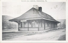 Johnsonburg PA * B.&O. R.R. Station  1957 * Elk Co.