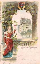 Heilbronn,Germany,Catholic Church,Baden-Wurttemberg,Embossed,1902