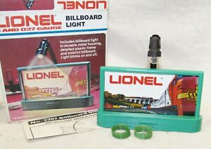 Lionel No. 2307 Billboard Light ~ NOS O Gauge