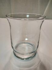 Clear, Glass Bud Vase, 6 1/8 inches, Unbranded